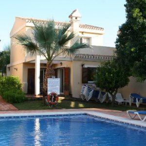 Villa pool at Los Naranjos on La Manga Club Resort